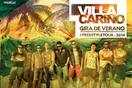 villa cariño gira 2014