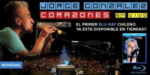 Blu-Ray Jorge González Corazones