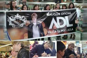 Andrés de León firma de discos